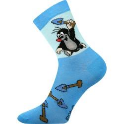 Boma gyerek zokni - Kisvakond - világoskék