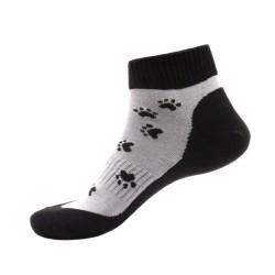 Unisex zokni - Fekete mancsok