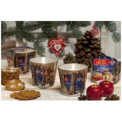 Illatos gyertya üvegben – Karácsonyi mézeskalács, 115g