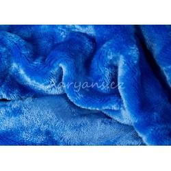 MikroFlanel lepedő - Kék
