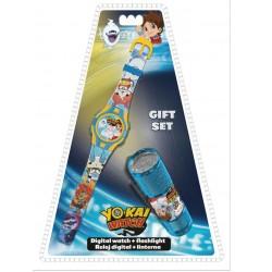 Ajándék szett - YO-KAI óra és LED elemlámpa