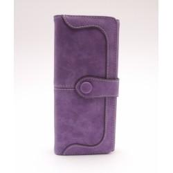 Női pénztárca - lila