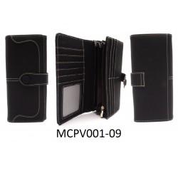 Női pénztárca - fekete
