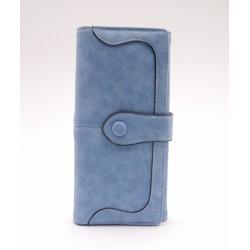 Női pénztárca - kék