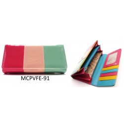 Női pénztárca - színes