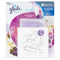 Glade Discreet - Levendula & jázmin 8g légfrissítő + készülék