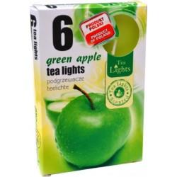 Illatos teamécsesek (6db) - Zöld alma