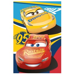 Gyermek fleece pléd 100x150 cm - Cars 3