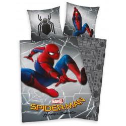 Pamut ágyneműhuzat - Spiderman, szürke