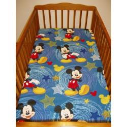 Gyermek lepedő (90x155) - Mickey Mouse