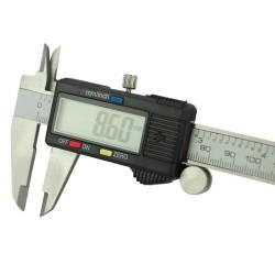 Digitális tolómérce LCD kijelzővel