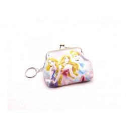 Gyerek pénztárca kulcstartóval - Hercegnők