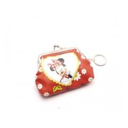 Gyerek pénztárca kulcstartóval - Minnie
