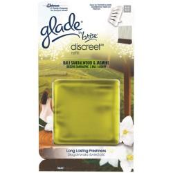 Glade Discreet utántöltő 8 g - Szantálfa és jázmin