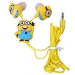 Fülhallgató - sárga