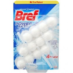 Bref Blue Aktiv WC 3x50g - Pure white