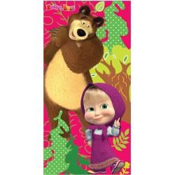 Fürdőlepedő - Mása és Medve