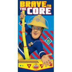 Fürdőlepedő - Sam a tűzoltó, brave to the core