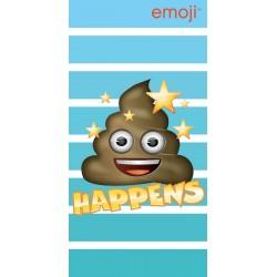 Fürdőlepedő - Emoji Happens