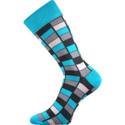 Unisex zokni - Mozaik, kék