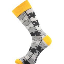 Lonka unisex zokni - Crazy puzzle