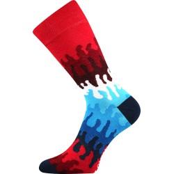 Lonka unisex zokni - Crazy hullámok