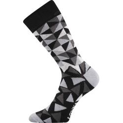 Lonka unisex zokni - Crazy háromszögek