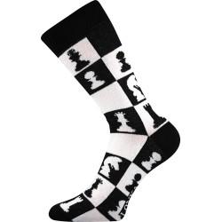Lonka unisex zokni - Crazy sakk