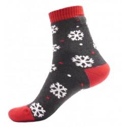 Női termo zokni - Hópelyhek