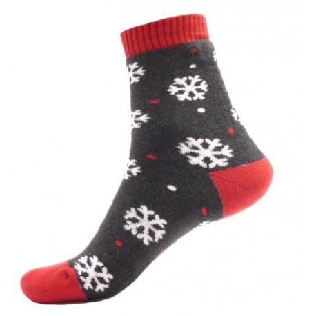 Unisex termo zokni - Hópelyhek