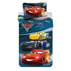 Pamut ágyneműhuzat - Cars 3, Night Race
