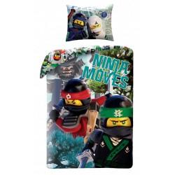 Pamut ágyneműhuzat - Lego Ninjago Movie