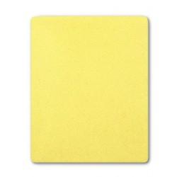 Frottír lepedő kiságyba - sárga