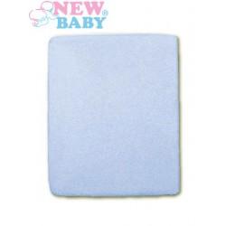 Vízálló lepedő New Baby 120x60 kék