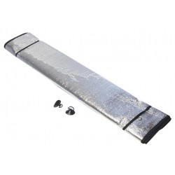 Napvédő szélvédőre - 140 x 70 cm, ezüst