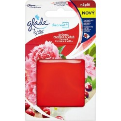 Glade Discreet utántöltő 8 g - Csábító bazsarózsa és cseresznye