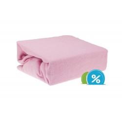Gyermek frottír lepedő (60x120) - rózsaszín