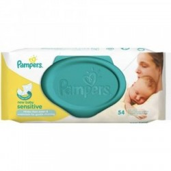 Pampers New Baby Sensitive Törlőkendő, 54db
