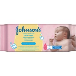 Johnsons Baby Extra Sensitive nedves törlőkendő, 56 db