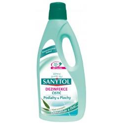 Sanytol Padló- és felülettisztító és fertőtlenítő eukaliptusz illattal 1L