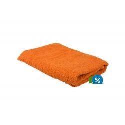 Frottír törölköző 50x100 cm - narancssárga