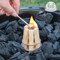 BBQ classics fa barbecue gyújtó grillhez