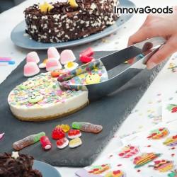 InnovaGoods tortaszeletelő és -tálaló
