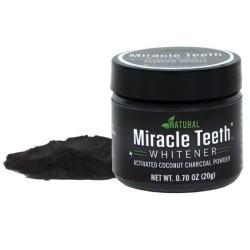 Miracle Teeth természetes készítmény fogfehérítéshez - 20 g