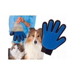 Kesztyű a kutya és macska szőr kifésülésére