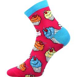 Női zokni - Cupcake