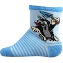 Boma gyerek zokni - Kisvakond - kék