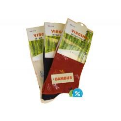 Virgina klasszikus bambusz gyerekzokni HN-1012 - 4 pár