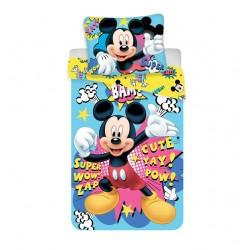Jerry Fabrics pamut ágyneműhuzat egyszemélyes ágyra - BAM - Mickey