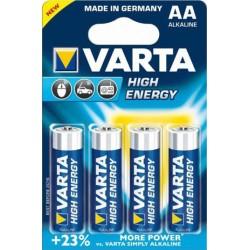 Varta High Energy 1,5V, 2930mAh - 4x AA alkáli elem